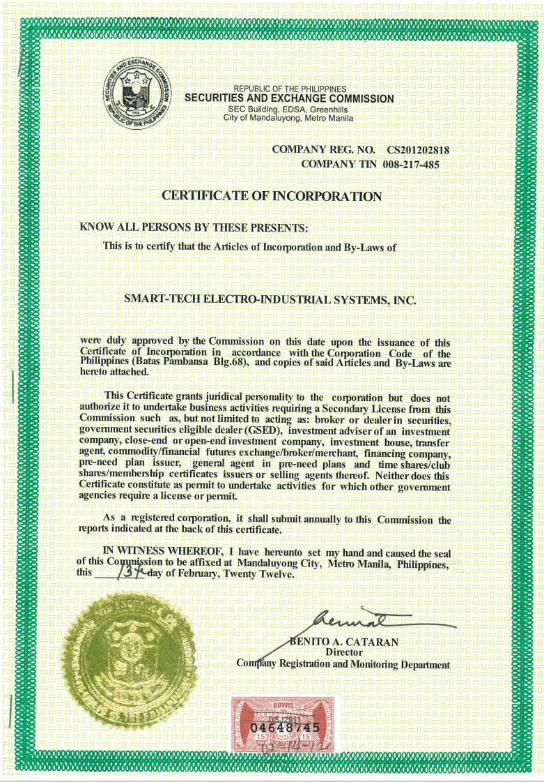 Business Permits Pcab License Amp Certifications Smart