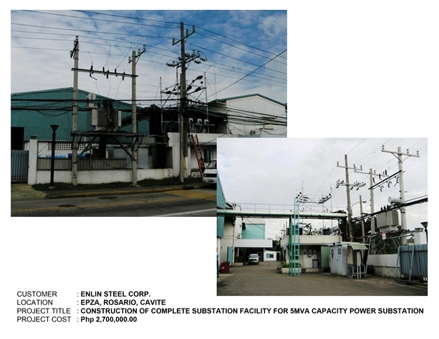 Enlin Steel Phils Corporation Smart Tech Power Systems